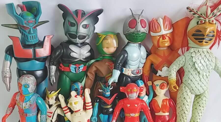 兵庫県よりポピーやナカジマなどのレトロなソフビ人形をたくさんお買取させて頂きました!